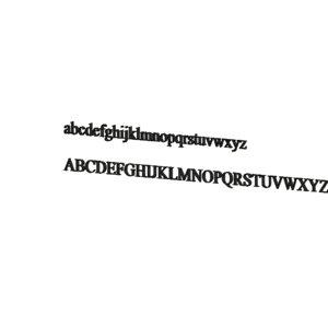 angsana new font 3d model