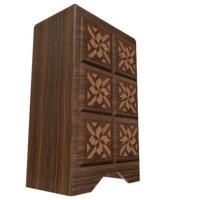 classic dresser 3d model