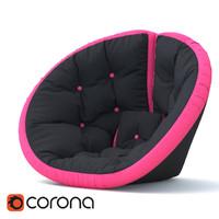 chair soft obj