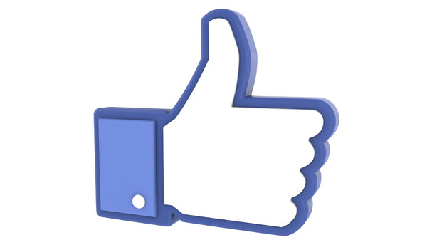 facebook people 3d model