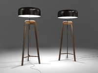 Pileo floor lamp by Sovrappensiero design 3D model