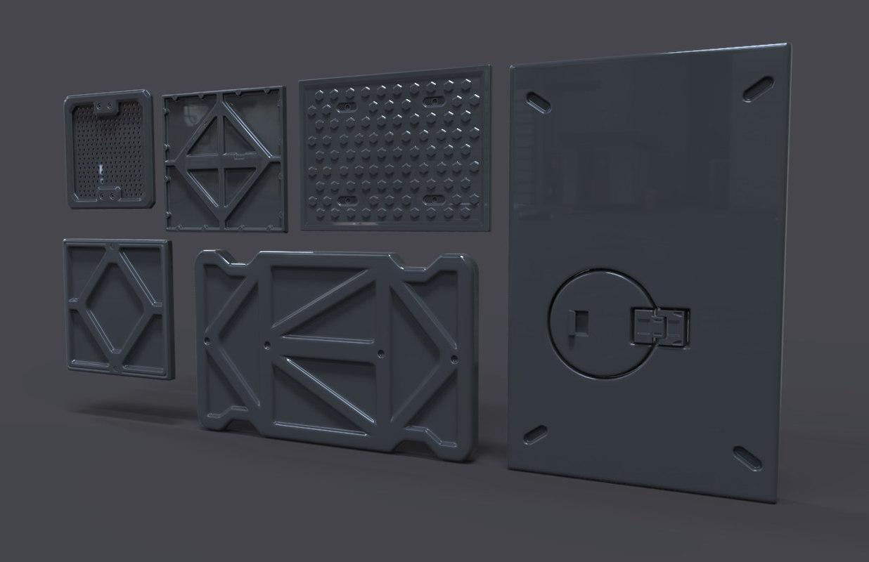 sci-fi panels max