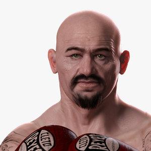 3d realistic boxer