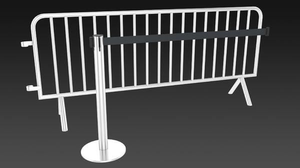 barrier 3d max