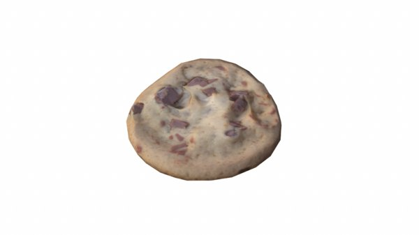 3d model cookie
