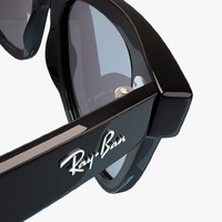3d model sunglasses ban wayfarer rb2140