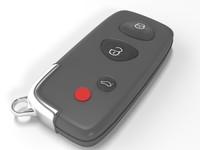 3d model key car