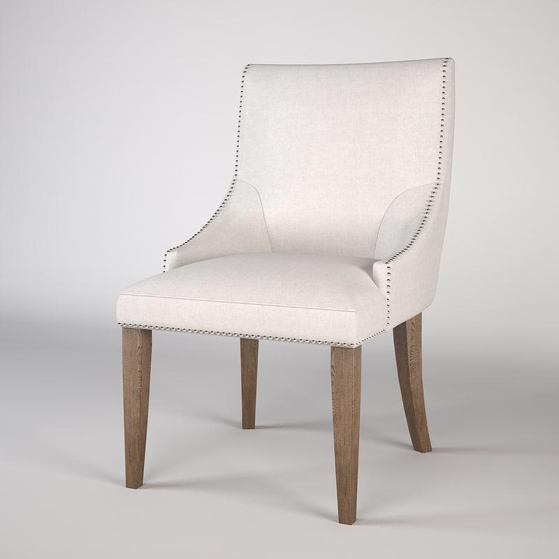 eichholtz chair bermuda 3d max