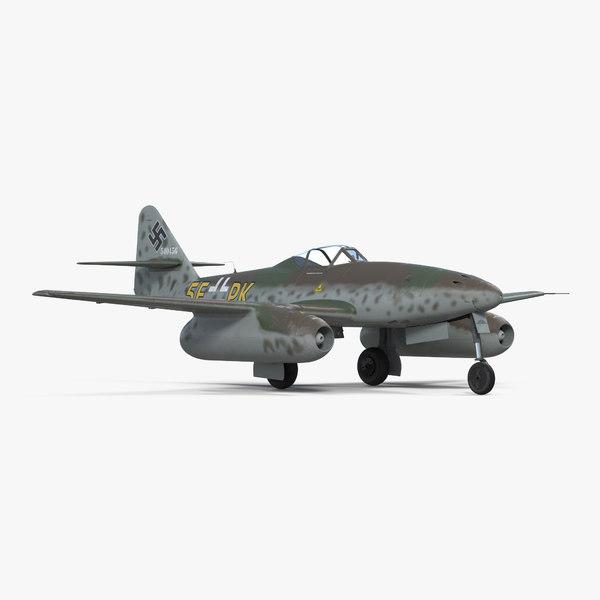 fighter aircraft messerschmitt 262 3ds
