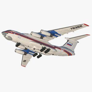 ilyushin il-76 emergency russian 3ds