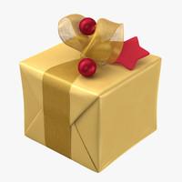 christmas present 02 c4d