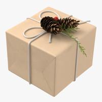 christmas present 04 3d max