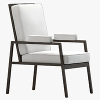 marc du plantier armchair 3d model