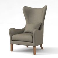 Jackson Wing Chair by MariesCorner