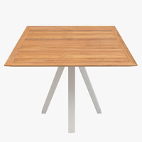 kettal vieques dining table 3d max