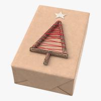 christmas present 07 3d c4d