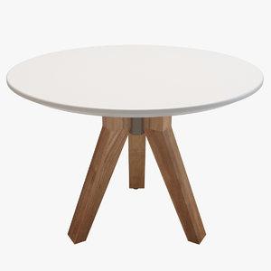 kettal vieques table 3d max