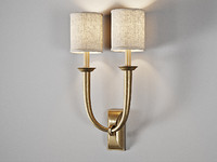Visual Comfort French Deco Horn Double Sconce art. S2021