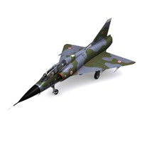 dassault mirage fighter french 3d model