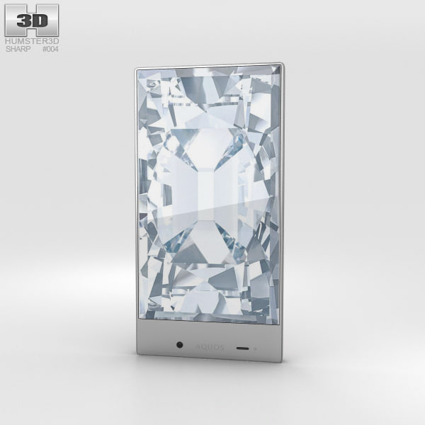 3d model sharp aquos crystal