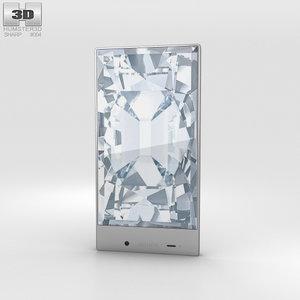 3d model sharp aquos crystal