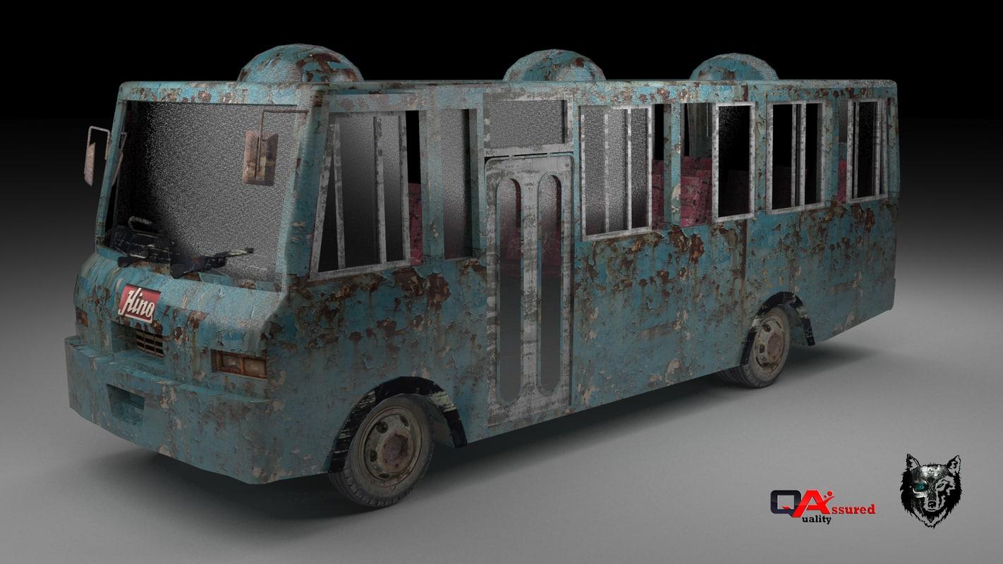 asian bus 3ds