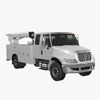 service truck 3d model
