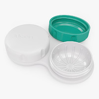 realistic contact lens case 3d obj