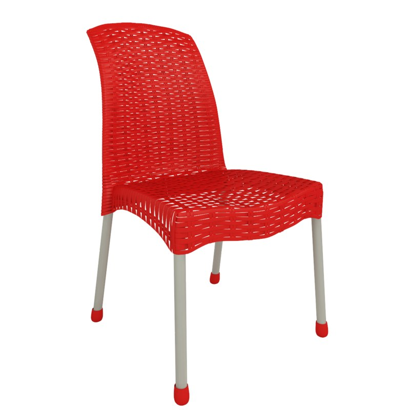 3d rattan arm chair