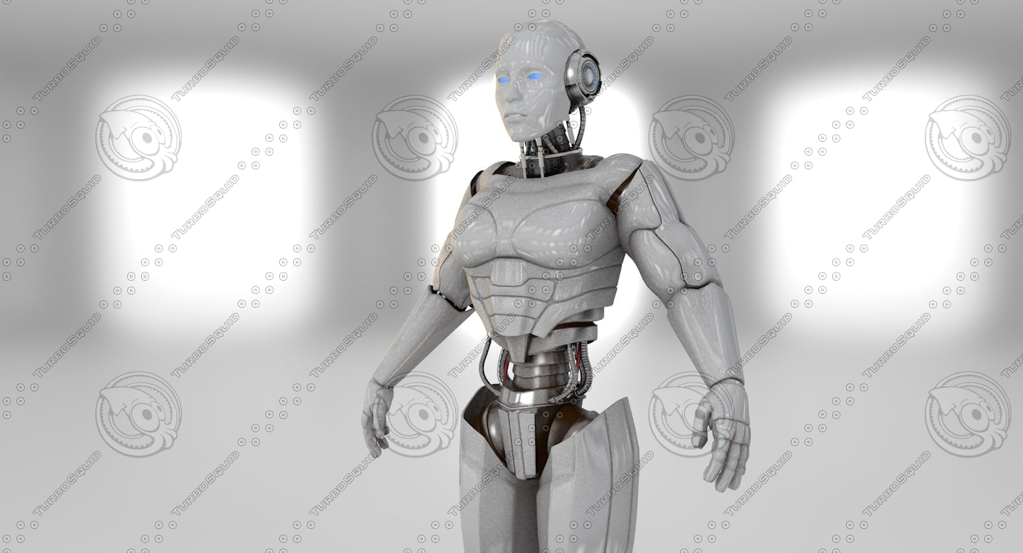 c4d cyborg