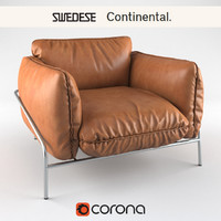 3d model swedese continental