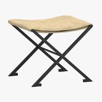 3d model raymond subes stool