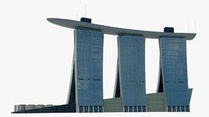 3d singapore marina bay hotel