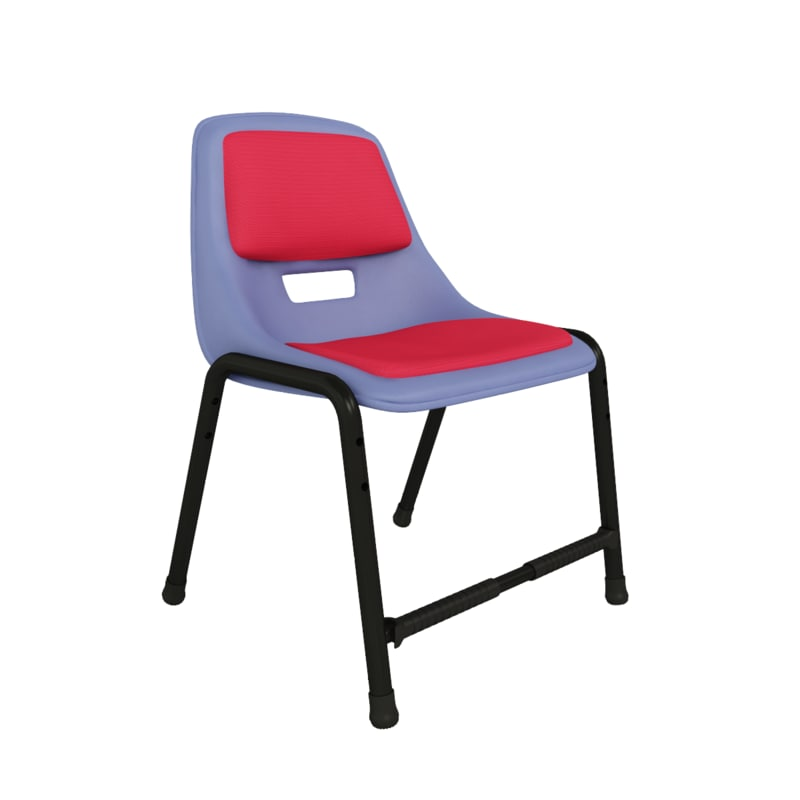 3d model of study chair