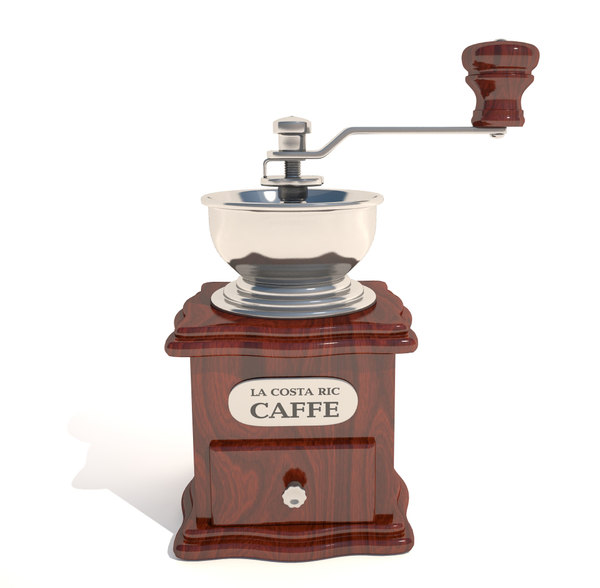 manual coffee grinder 3d max