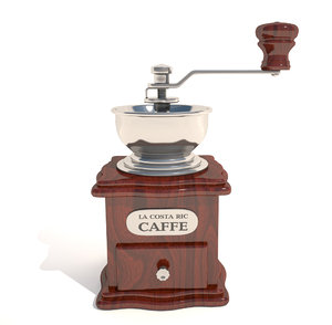 manual coffee grinder 3d max