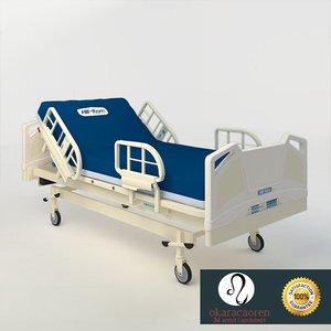medical hospitals 3d max