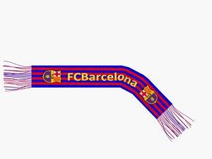 max barcelona fc scarf