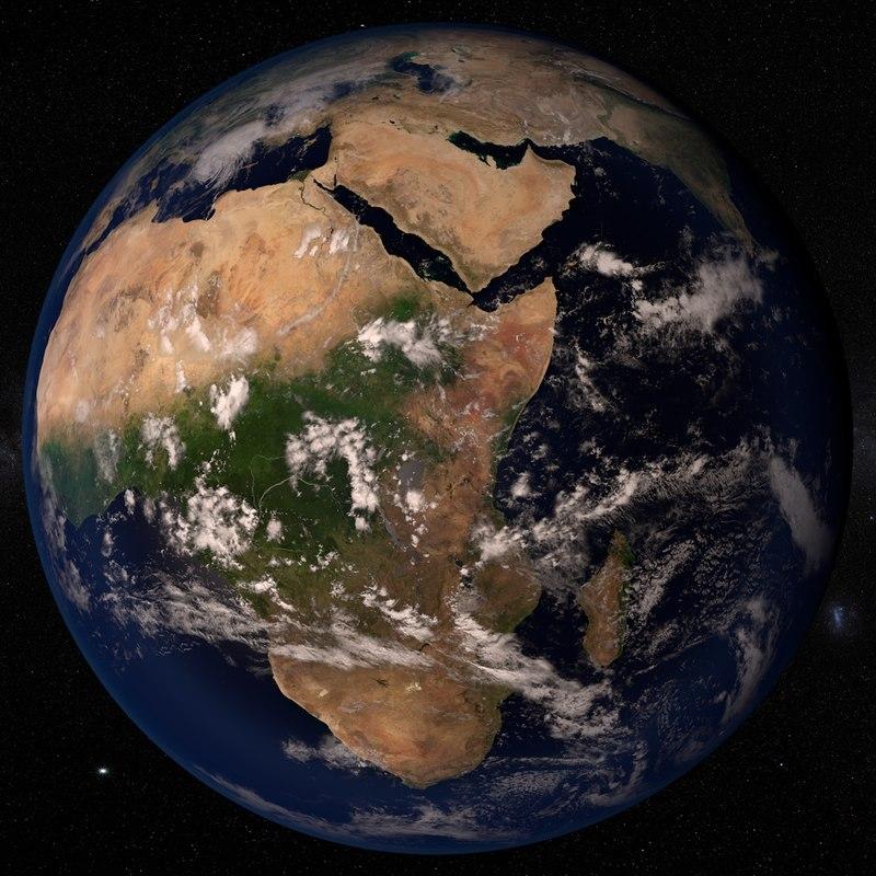 planet earth 43k c4d