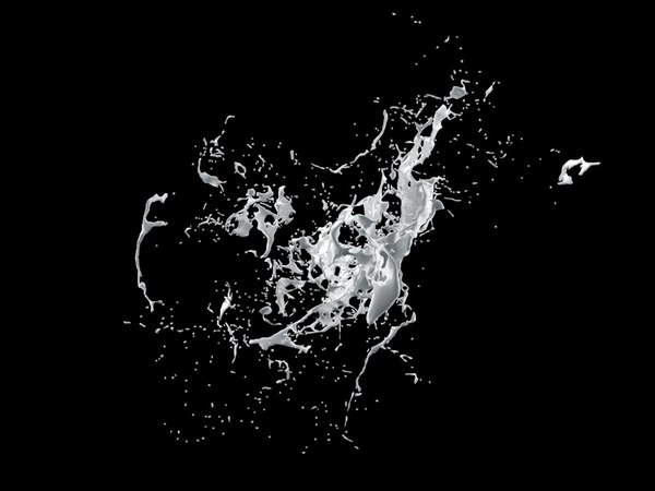 3d obj splash liquid