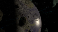 Memory of fallen(asteroid field)