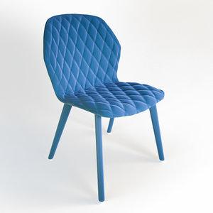 3d model of chair stuhl 03 edit