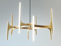 markus ash onyx chandelier 3d model