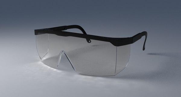 safety eyewear 3d max