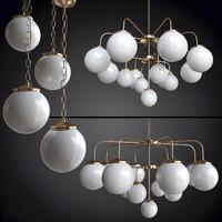 chandelier rome mullan 3d 3ds