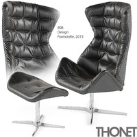 max thonet 808 armchair footstool