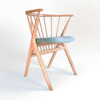 3d armchair sessel 02 model