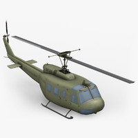 huey bell 3d max