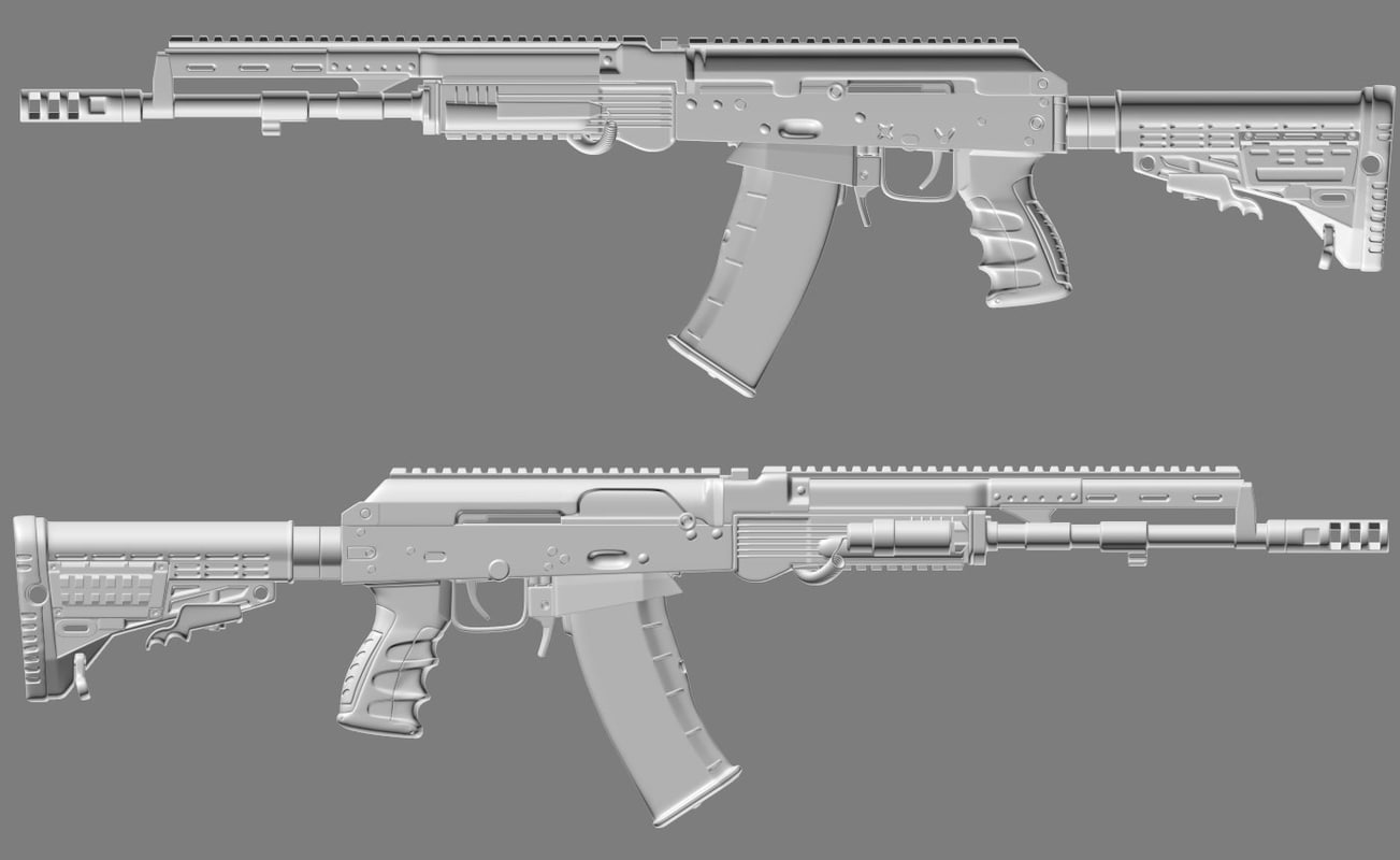 3d mk-107 mk 107 model