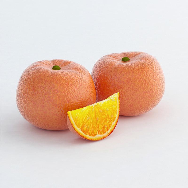 mandarin obj